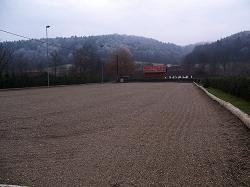Viereck Sandplatz
